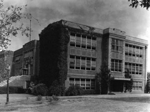 The 1938 Education Building at UNT