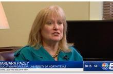 Barbara Pazey talks to NBC5