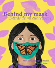 Book Cover for Behind my mask