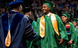 University of North Texas College of Science and College of Engineering Commencement.